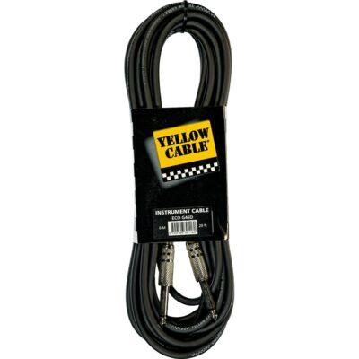 Yellow Cable G46D Cavo Strumento Jack Mono/Jack Mono 6 m