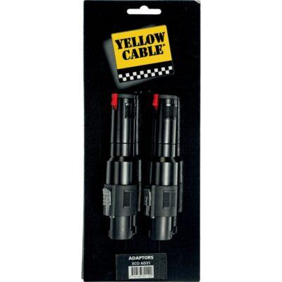 Yellow Cable AD31 Adattatore Speakon/Jack Mono Femmina