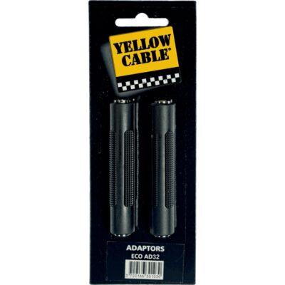 Yellow Cable AD32 Adattatore Mini Jack TRS/Mini Jack TRS Femmina