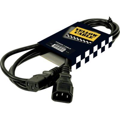 Yellow Cable PCEMF Prolunga Cavo Alimentazione 2 m