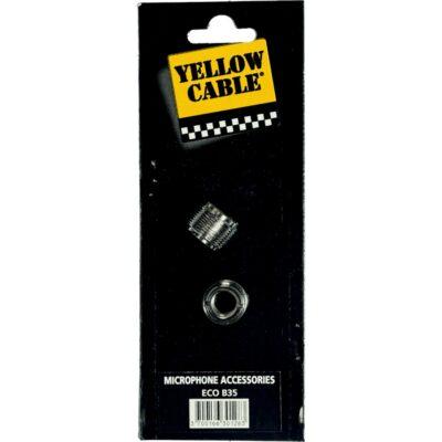 Yellow Cable B35 Adattatori per Clamp Microfonica 2 Pcs
