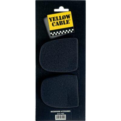 Yellow Cable FW5 Cuffia Antivento per Microfono 2 Pcs