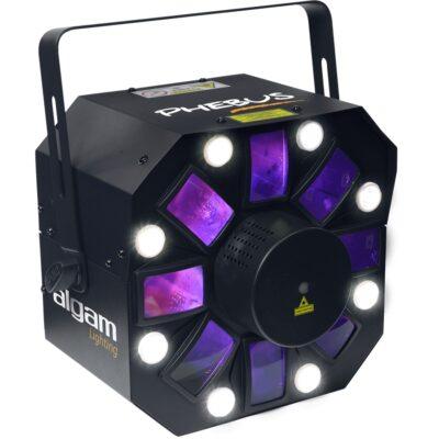 Algam Lighting PHEBUS Proiettore LED Multieffetto DMX