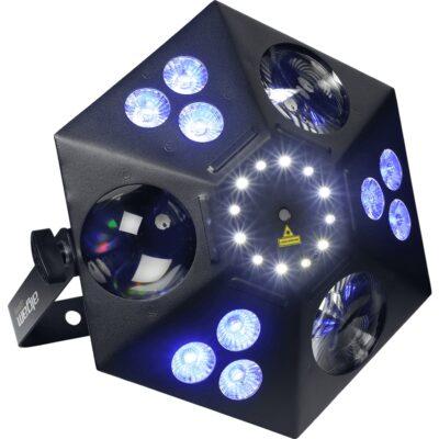 Algam Lighting THANOS Proiettore Par LED Multieffetto DMX