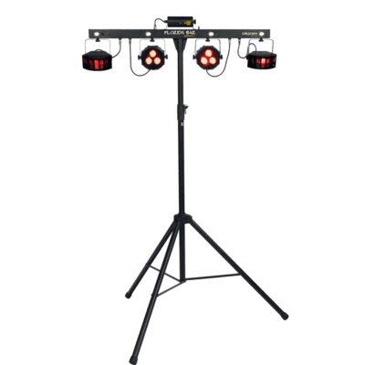 Algam Lighting FLORIDA-BAR Set Illuminazione Par LED Multieffetto DMX