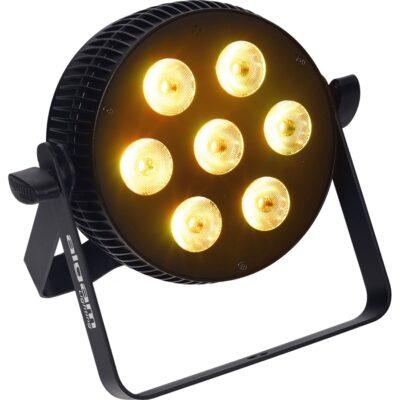 Algam Lighting SLIMPAR-710-QUAD Proiettore Par LED 7 x 10W RGBW