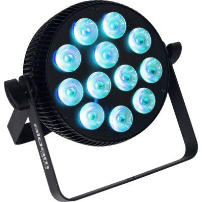 Algam Lighting SLIMPAR-1210-QUAD Proiettore Par LED 12 x 10W RGBW