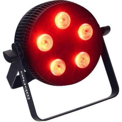 Algam Lighting SLIMPAR-510-HEX Proiettore Par LED 5 x 10W RGBWAU
