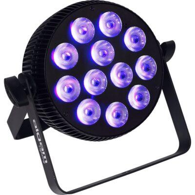 Algam Lighting SLIMPAR-1210-HEX Proiettore Par LED 12 x 10W RGBWAU