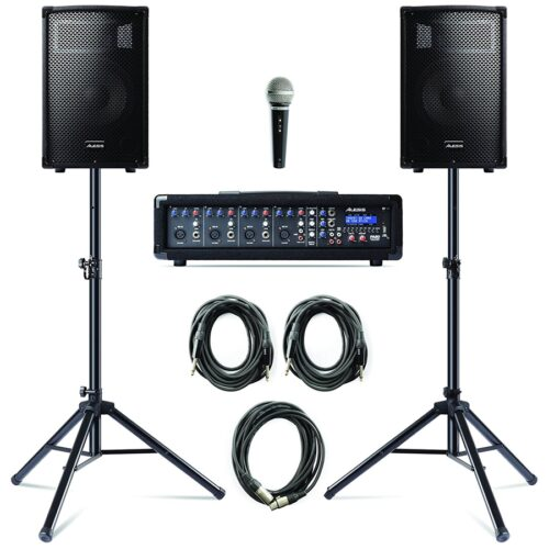 Alesis PA System Con Stands 280W