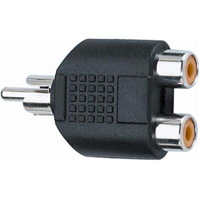 Quik Lok AD/270 Adattatore audio 2 RCA femmina/RCA