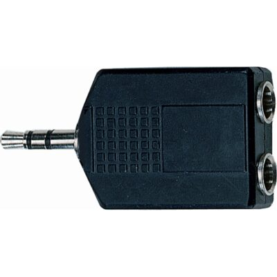 Quik Lok AD/266 Adattatore audio Jack stereo/2 Jack stereo F