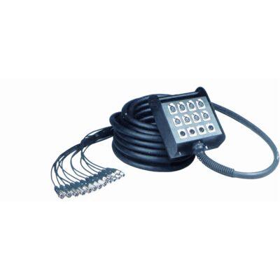 Quik Lok BOX/604-10K Stage box audio system