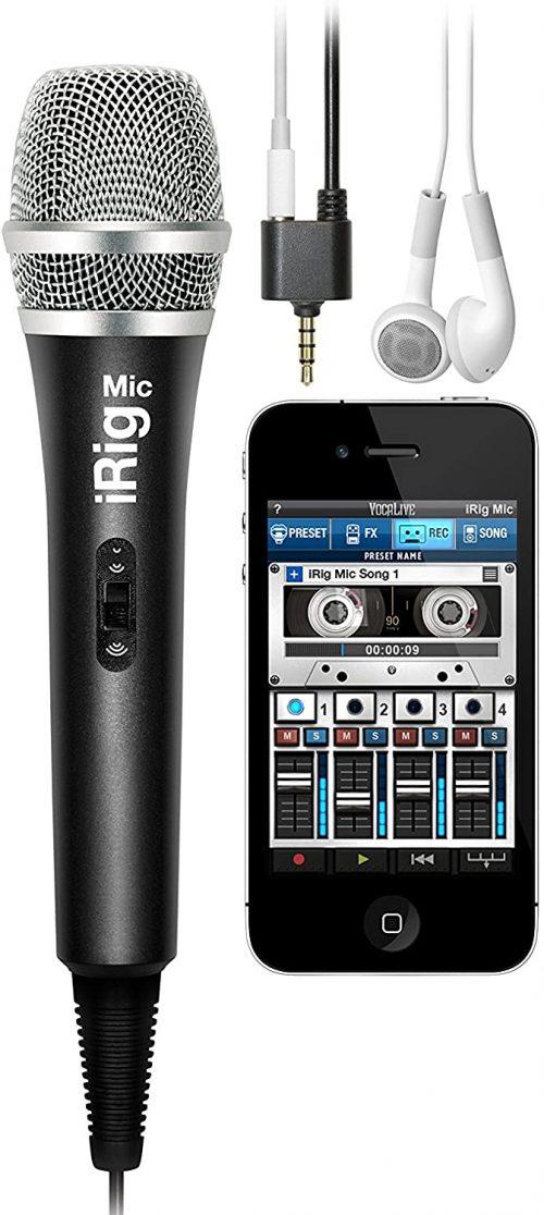 IK Multimedia iRig MIC Microfono