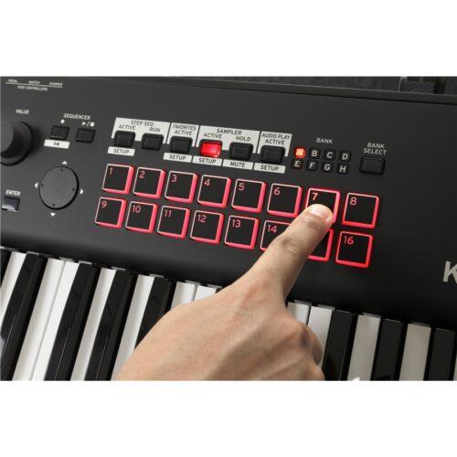 Korg Kross 2 61 Tasti Super Matte Black Workstation