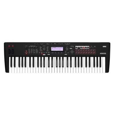 Korg Kross 2 61 Tasti Super Matte Black Workstation