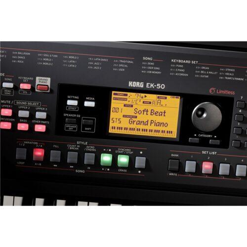Korg EK-50 L Tastiera Dinamica