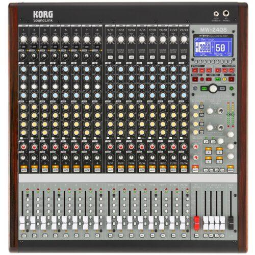 Korg MW 2408 Mixer Analogico Digitale