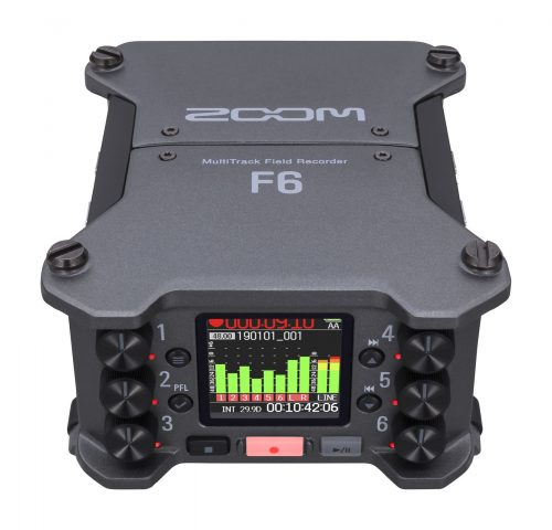 Zoom F6 Multitrack Field Recorder Registratore