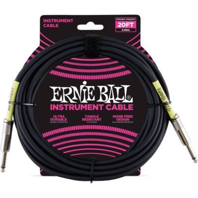 Ernie Ball 6046 Cavo PVC Black 6 m