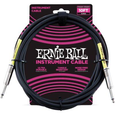 Ernie Ball 6048 Cavo PVC Black 3 m