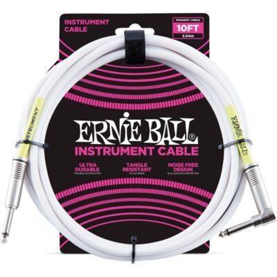 Ernie Ball 6049 Cavo PVC White 3 m