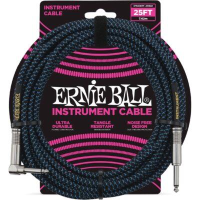 Ernie Ball 6060 Cavo Braided Black/Blue 7
