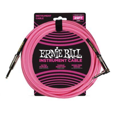 Ernie Ball 6065 Cavo Braided Neon Pink 7
