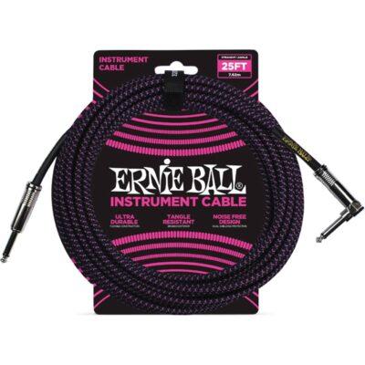 Ernie Ball 6068 Cavo Braided Black/Purple 7