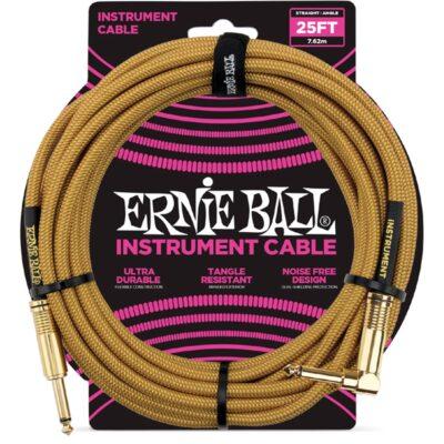 Ernie Ball 6070 Cavo Braided Gold/Gold 7