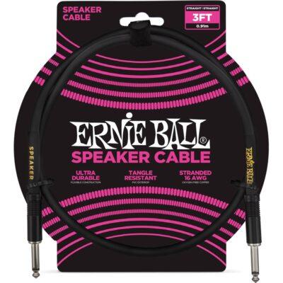 Ernie Ball 6071 Cavo Speaker Black 90 cm