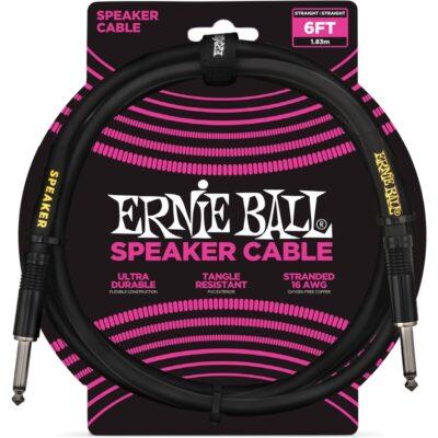 Ernie Ball 6072 Cavo Speaker Black 1