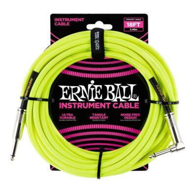 Ernie Ball 6085 Cavo Braided Neon Yellow 5