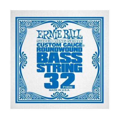 Ernie Ball 0032 Nickel Wound Bass Scala Super Lunga .032