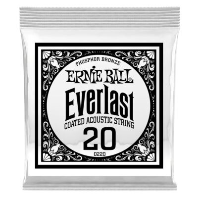 Ernie Ball 0220 Everlast Coated Phosphor Bronze .020