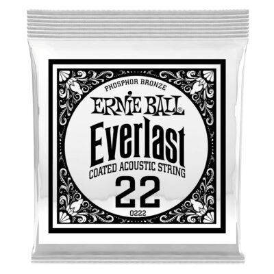 Ernie Ball 0222 Everlast Coated Phosphor Bronze .022