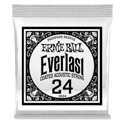 Ernie Ball 0224 Everlast Coated Phosphor Bronze .024