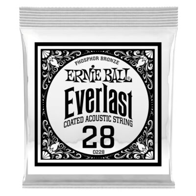 Ernie Ball 0228 Everlast Coated Phosphor Bronze .028