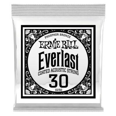 Ernie Ball 0230 Everlast Coated Phosphor Bronze .030