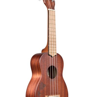 Kala KA-15S-H1 - Ukulele soprano KA-15 ''Hawaiian Islands'' - c/borsa