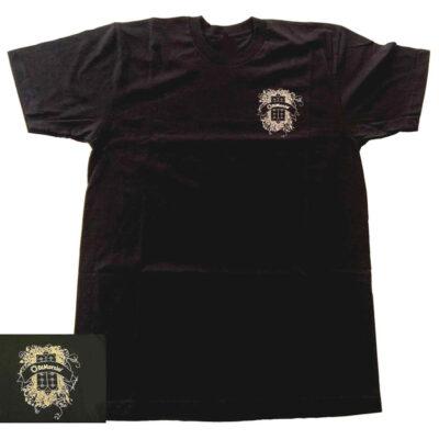 DiMarzio T-Shirt DiMarzio nera c/logo - Taglia L - DD3500BK-L