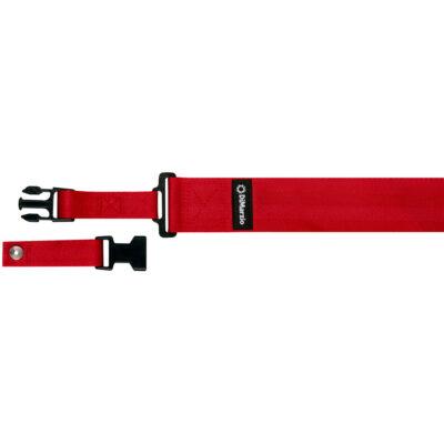 DiMarzio DD2200N Nylon ClipLock - rosso - DD2200RD