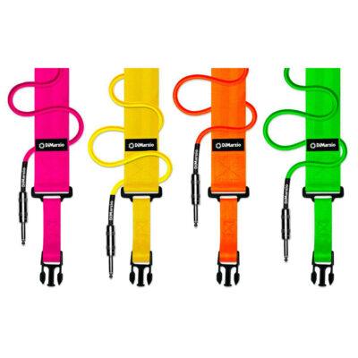 DiMarzio DD2200N Nylon ClipLock - rosa neon - DD2200PK