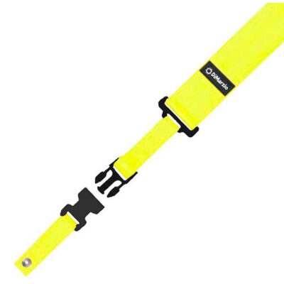 DiMarzio DD2200N Nylon ClipLock - giallo neon - DD2200Y