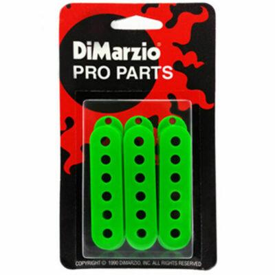 DiMarzio DM2001 - cover per single coil hum canceling - set 3 pezzi - verde