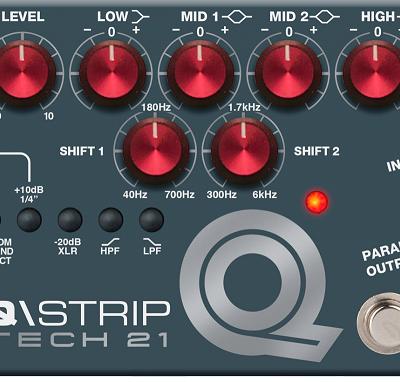 Tech21 QStrip - preamplificatore a pedale