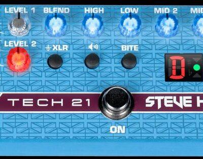Tech21 SH1 - Steve Harris Signature Pedal - preamplificatore per basso