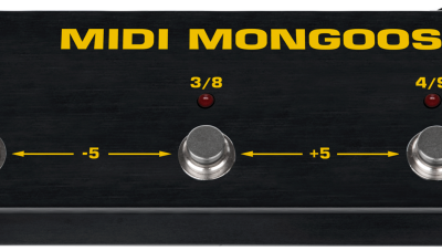 Tech21 MIDI Mongoose - controller MIDI a pedale