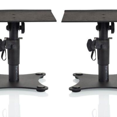 Gator GFWSPKSTMNDSK - coppia di stand da tavolo per studio monitor