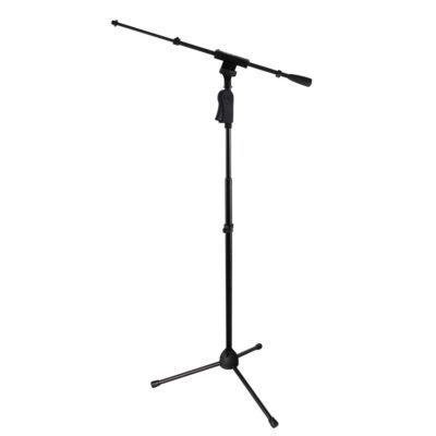 Gator GFW-MIC-2120 - stand deluxe a treppiede per microfono c/giraffa telescopica